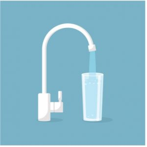 Reverse osmosis system in Elk Grove Village, Illinois